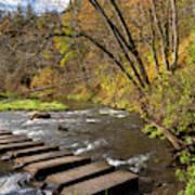 Whitewater River Scene 55 C Poster
