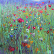 Wild Meadow Poster