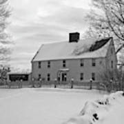 Winter At Noyes House Poster