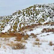 Winter Badlands Poster