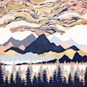 Winter's Sky Poster