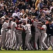 World Series Boston Red Sox V Colorado Poster