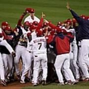 World Series Game 5 Detroit Tigers V Poster