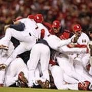 World Series Game 5 St. Louis Cardinals Poster
