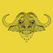 Yellow Buffalo Poster