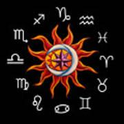 Zodiac Transparent Poster