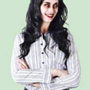 Zombie Businesswoman Poster
