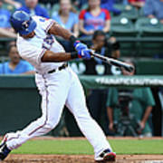 Adrian Beltre and Bruce Chen Poster