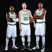 Al Horford, Kyrie Irving, and Gordon Hayward Poster