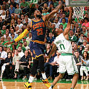Avery Bradley and Lebron James Poster