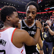 Demar Derozan and Kyle Lowry Poster