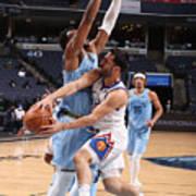 Denver Nuggets v Memphis Grizzlies Poster