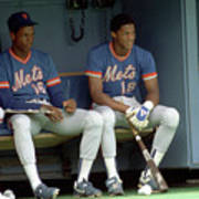 Dwight Gooden and Darryl Strawberry Poster