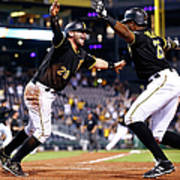 Francisco Cervelli and Gregory Polanco Poster