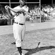 Jackie Robinson and Larry Doby Poster