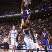 Kobe Bryant and Dwight Howard Poster