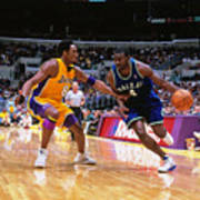 Michael Finley and Kobe Bryant Poster
