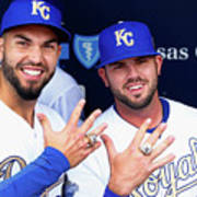 Mike Moustakas and Eric Hosmer Poster