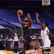 Minnesota Timberwolves v Golden State Warriors Poster