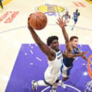 Minnesota Timberwolves v LA Lakers Poster