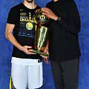Mychal Thompson and Klay Thompson Poster