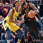 Myles Turner and Lebron James Poster