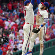 Rhys Hoskins And Bryce Harper Poster