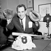 Yogi Berra Poster
