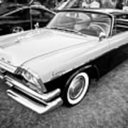 1957 Dodge Coronet Lancer 2 Door Coupe X109 Poster