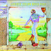 1973 Goodbye Yellow Brick Road album cover Poster