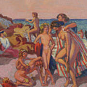 Bacchus and Ariadne Poster