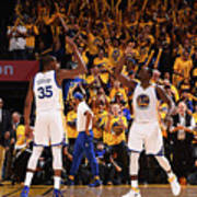 Draymond Green and Kevin Durant Poster