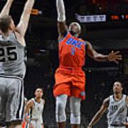 Oklahoma City Thunder vs. San Antonio Spurs Poster
