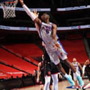 Toronto Raptors v Detroit Pistons Poster