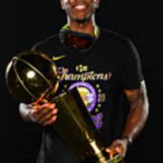 2020 NBA Finals - Los Angeles Lakers v Miami Heat Poster