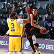 2020 NBA Finals - Miami Heat v Los Angeles Lakers Poster