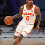 Atlanta Hawks v Charlotte Hornets Poster