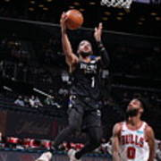 Chicago Bulls v Brooklyn Nets Poster