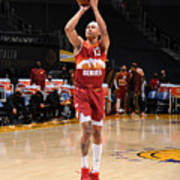 Denver Nuggets v Los Angeles Lakers Poster