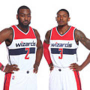 John Wall and Bradley Beal Poster