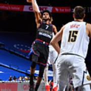 Denver Nuggets v Philadelphia 76ers Poster