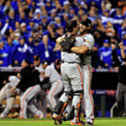 Madison Bumgarner and Buster Posey Poster
