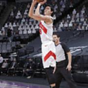Toronto Raptors v Sacramento Kings Poster