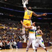 Lebron James - Tribute to Kobe Poster