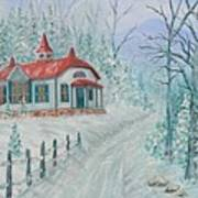 A Winters Day Poster