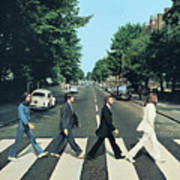 Abbey Road Original Remastered by The Beatles Poster