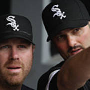 Adam Dunn And Paul Konerko Poster