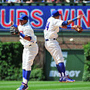 Addison Russell And Starlin Castro Poster