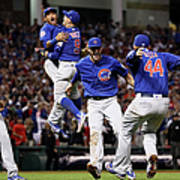 Addison Russell, Kris Bryant, and Javier Baez Poster