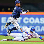 Alexi Amarista and Curtis Granderson Poster
